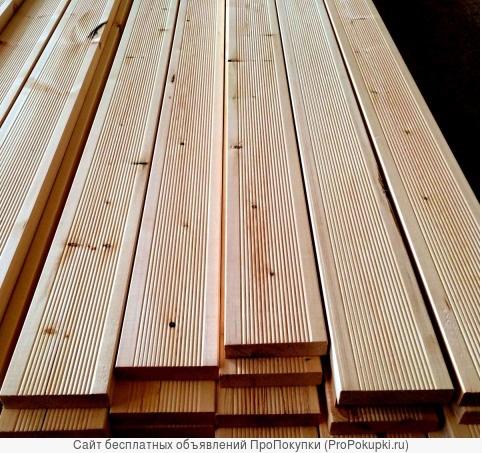 Террасная доска лиственница 30х155 С