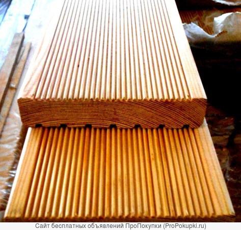 Террасная доска лиственница 29х145 С