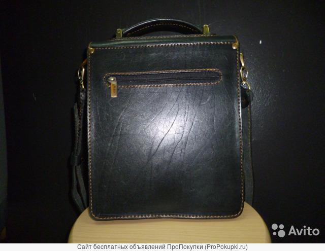 Продаю кожаную сумку планшет(Германия)