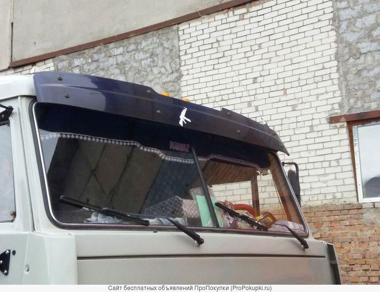 Козырьки аэродинамические солнцезащитные Камаз