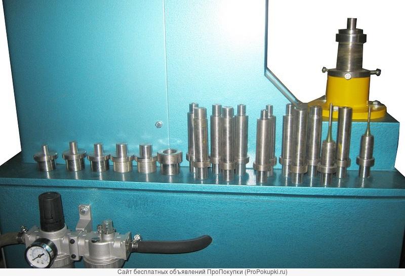 Станок для клепания тормозных колодок 4-12