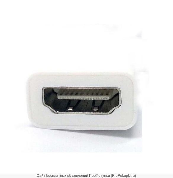 Аренда в Томске: Адаптер 4K Mini DisplayPort - HDMI мама для MacBook