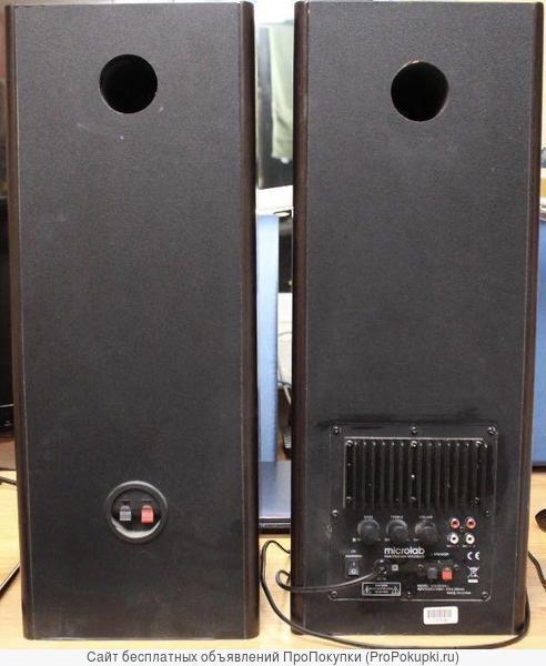 Колонки акустические Microlab solo3 с усилителем