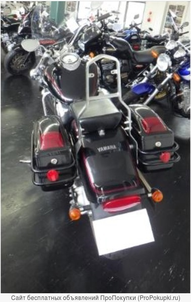 Мотоцикл круизер Yamaha Dragstar 1100 VP10J мотокофры
