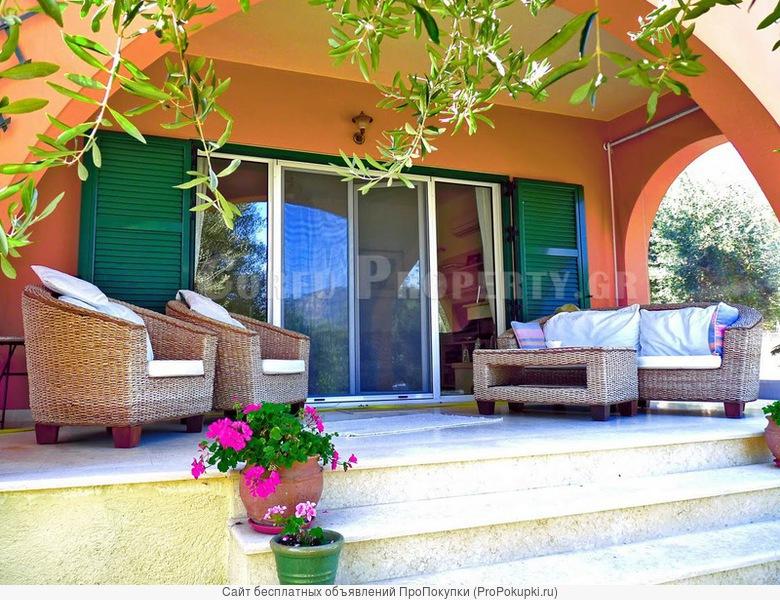 продается вилла в греции на острове корфу, ионические острова