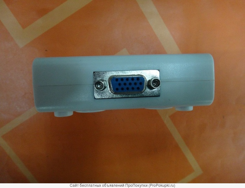 Аренда в Томске: VGA сплиттер 1х2 разветвитель VGA 1 - 2 выхода