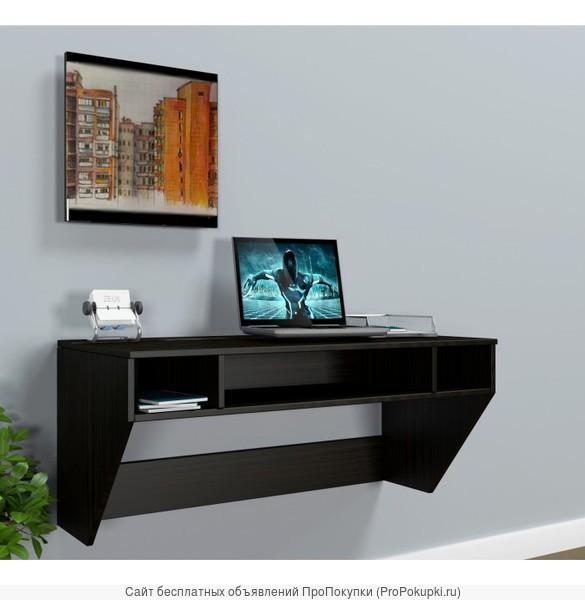 Компьютерный стол подвесной