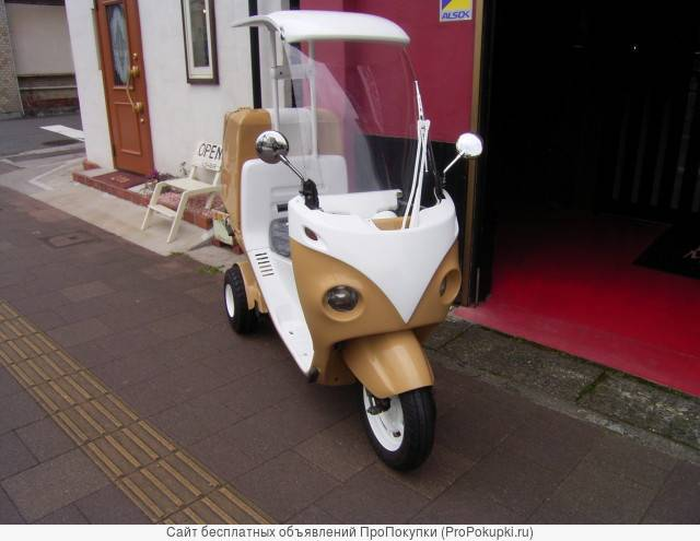 Скутер трайк Honda Gyro Canopy-2 TA03 крыша Box тюнинг под старину