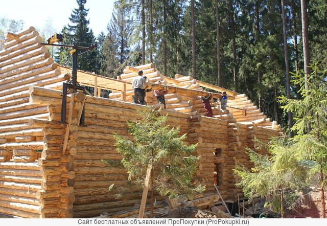 Занимаемся строительством деревянных домов. Мастера из Архангельска
