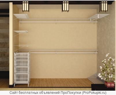 Сетчатое наполнение для гардеробных комнат и шкафов-купе