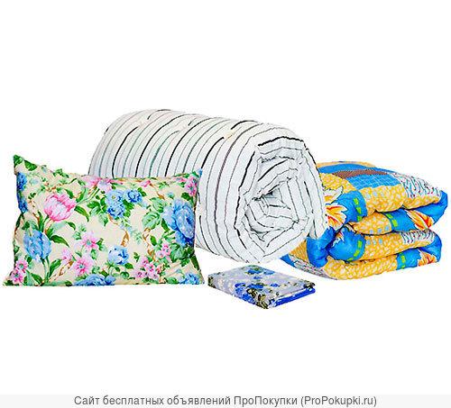 Спальный комплект(матрас-подушка-одеяло) ЭКОНОМ