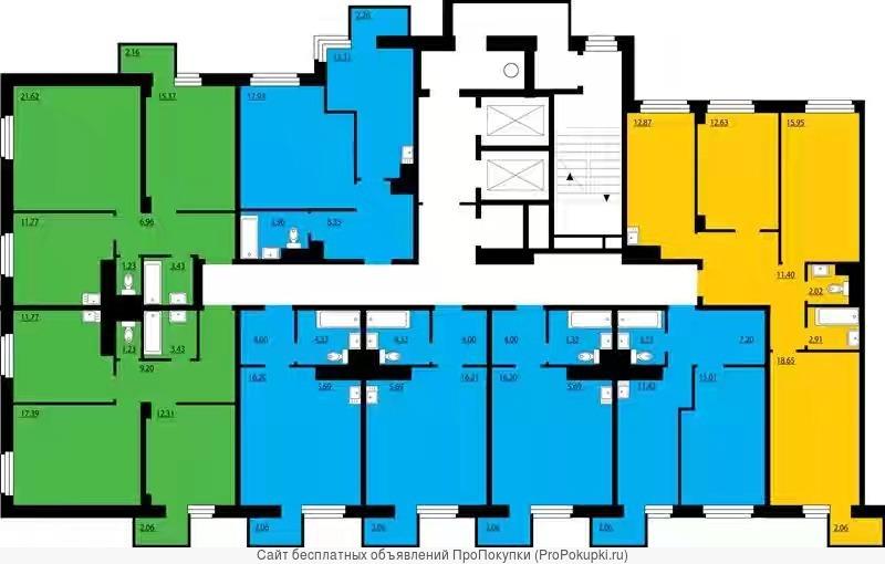 Продам 2-к квартиру, 56 кв.м., Преображенский, 2370 т.р