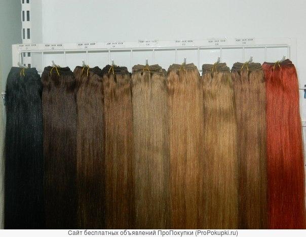 Продажа и наращивание волос лентами и трессами