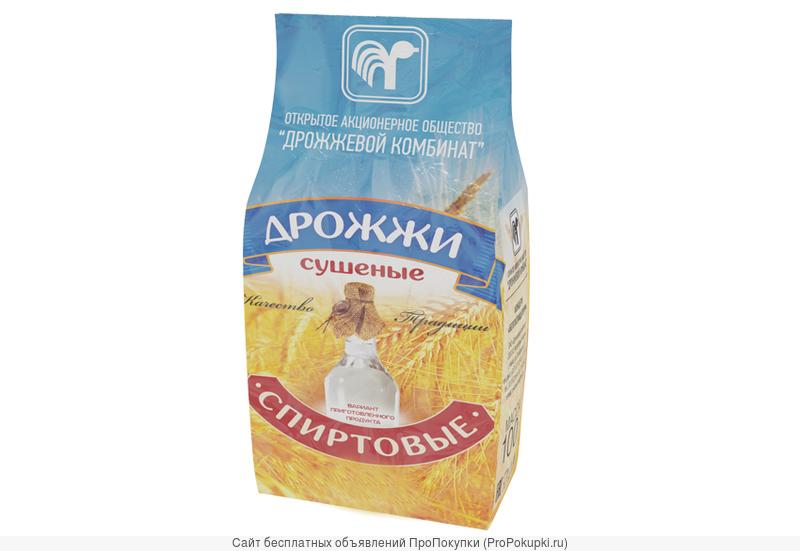 Дрожжи сушеные Спиртовые, упаковка 500 грамм, Дрожжевой комбинат