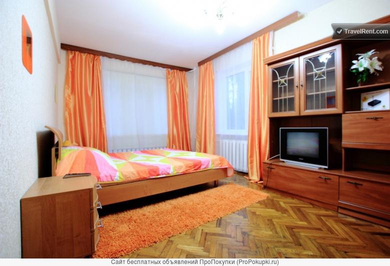 Уютная 1-комнатная квартира недалеко от центра