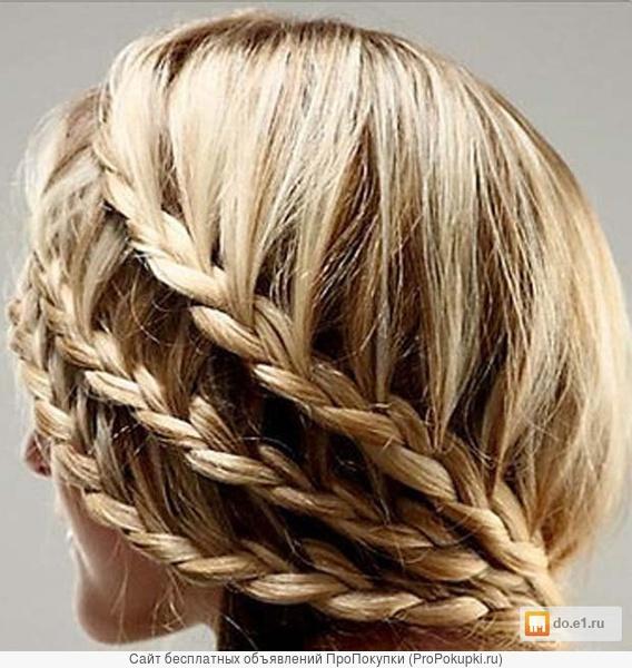 Плетение кос. Вечерние прически. Выезд на дом