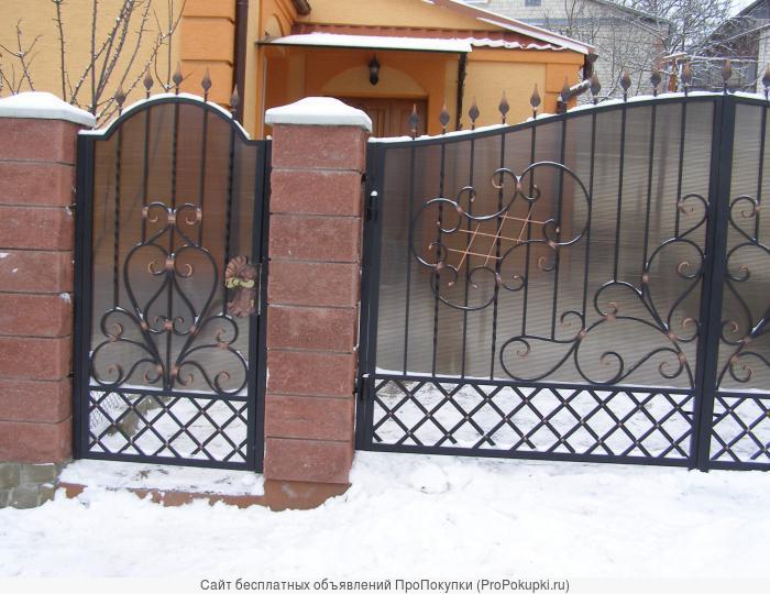 двери решетки заборы тамбуры лестницы навесы из поликарбоната