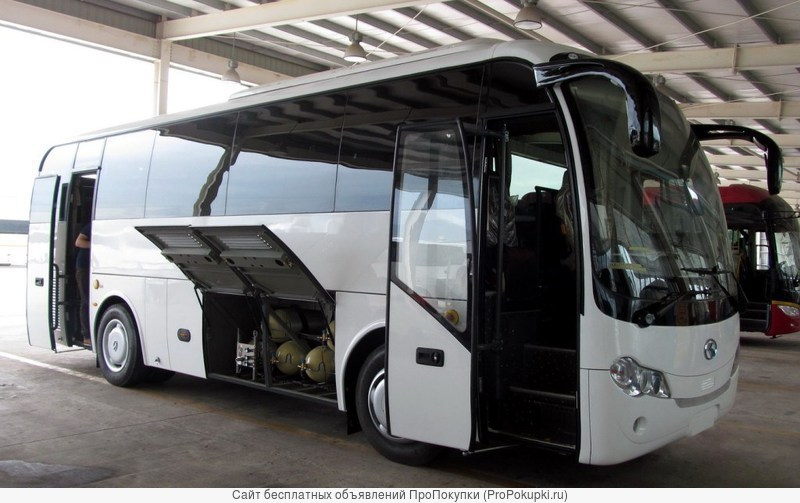Туристический автобус king long xmq6900 cng (метан)