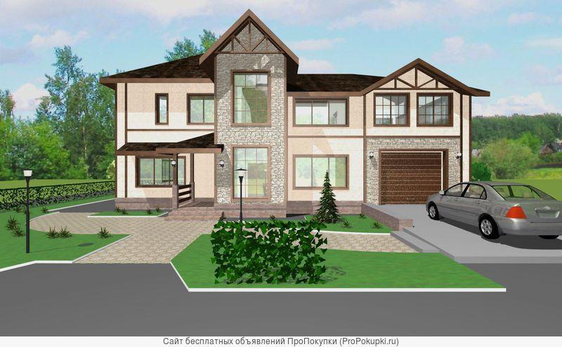 Разработка арх.проектов домов и дизайн-проектов интерьера