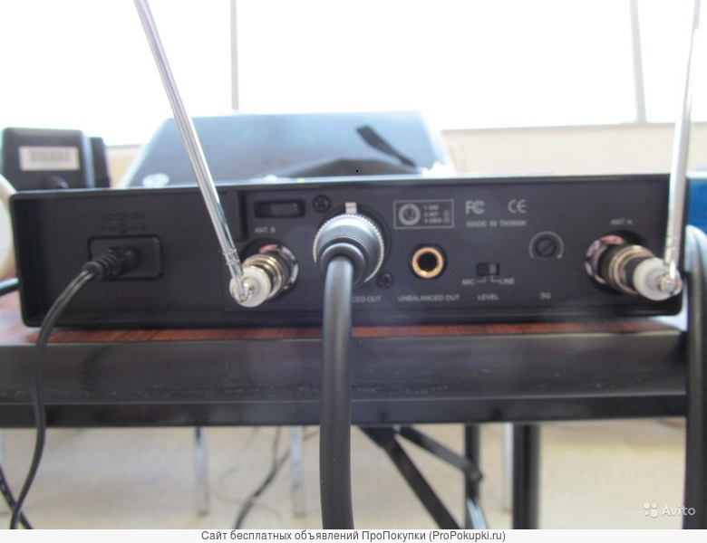аренда в Томске: Радиосистема Beyerdynamic Opus 180, ручной микрофон