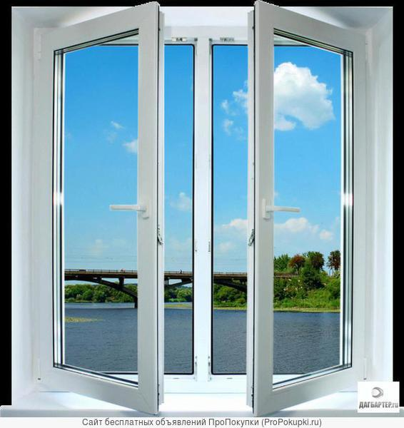Окна ПВХ, остекление балконов