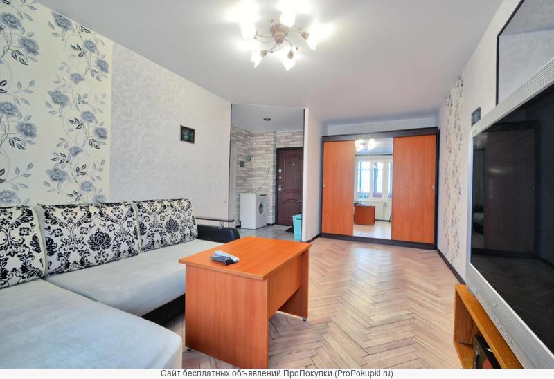 Сдам отличную 1 комнатную квартиру посуточно
