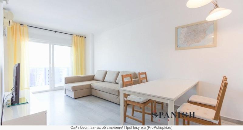 Апартаменты в Бенидорме с видом на море