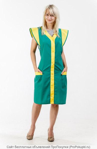 Одежда для сфер обслуживания, фартук женский