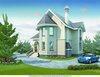 Дом из газобетона с облицовкой кирпичом