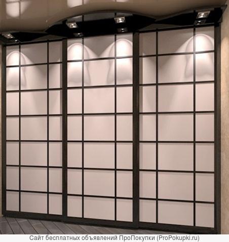 Межкомнатные раздвижные двери на заказ