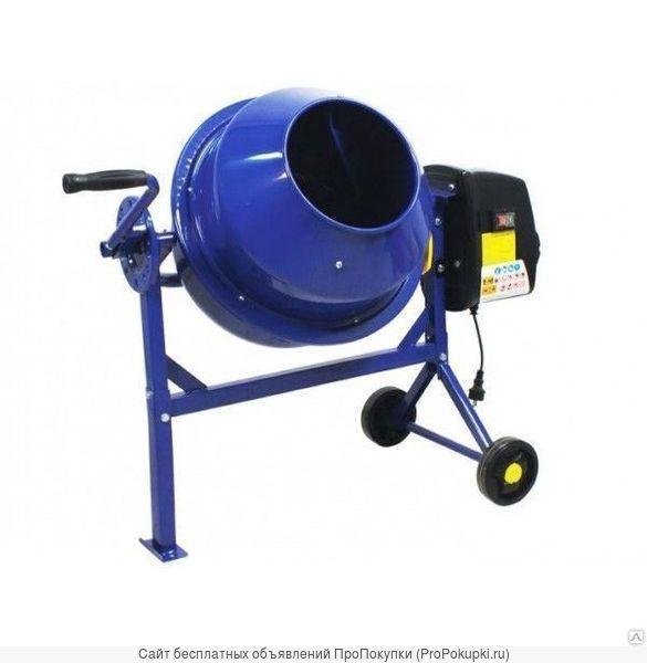 Бетономешалка 190 литров с червячным механизмом
