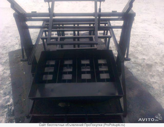 станок для производства пескоблока шлакоблока