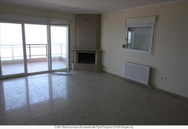 Квартира общей площадью 85 кв.м., камин, Салоники, Греция