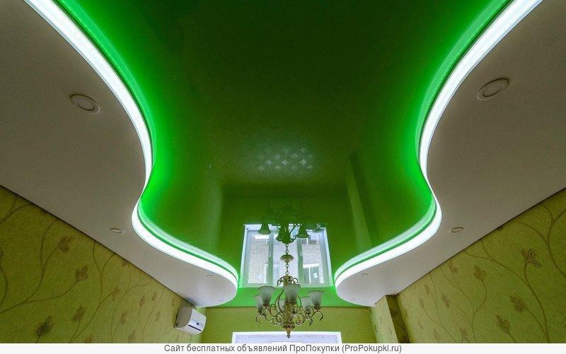 Установка натяжного потолка в Киреевске