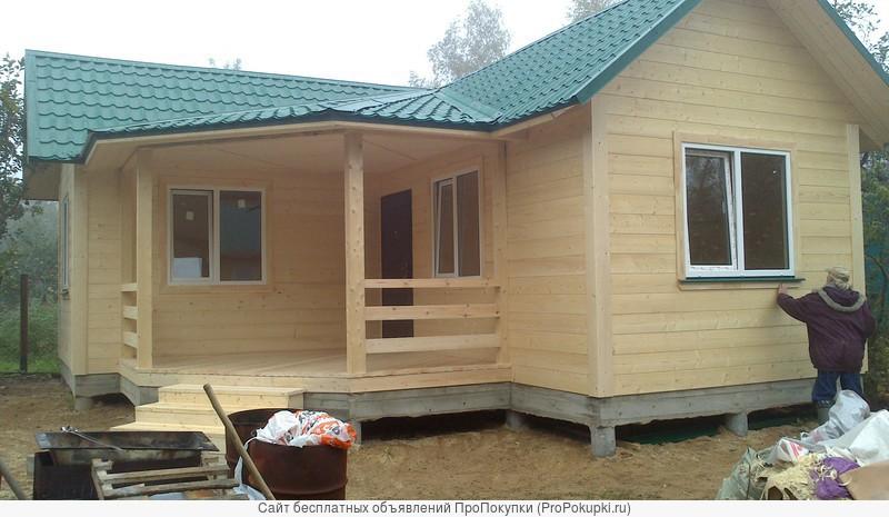 Строительство домов, бань