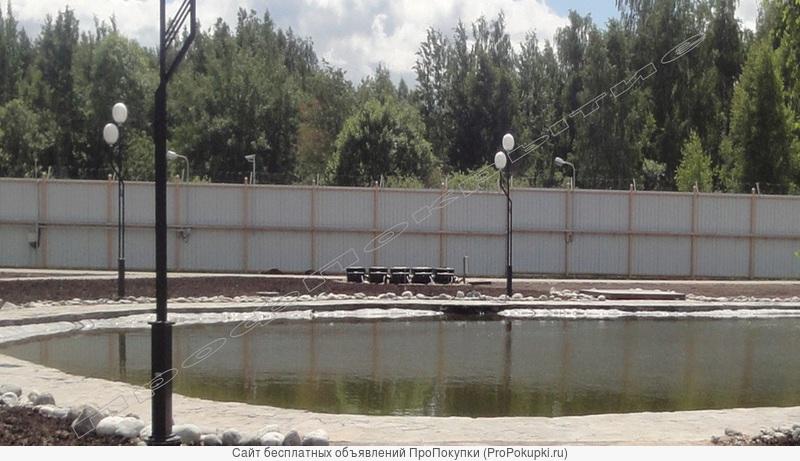Изготовление и строительство прудов, фонтанов, шеф монтаж. Гарантия