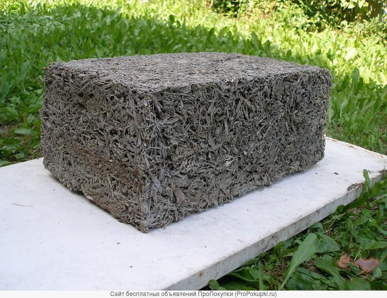Арболитовый блок 500x300x200 своими руками