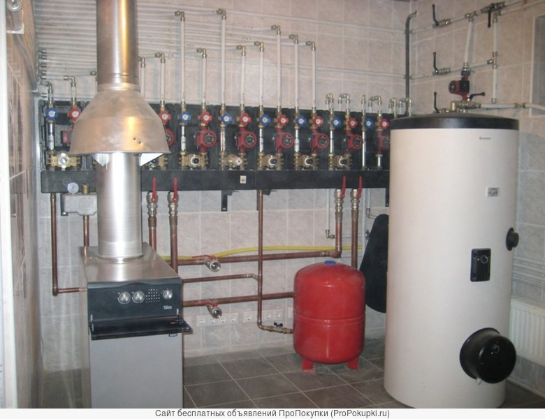 Водопровод. Отопление. Вентиляция. Электрика