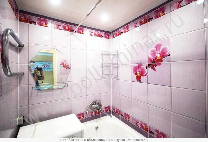 Ремонт ванных комнат пластиковыми панелями за 3 дня