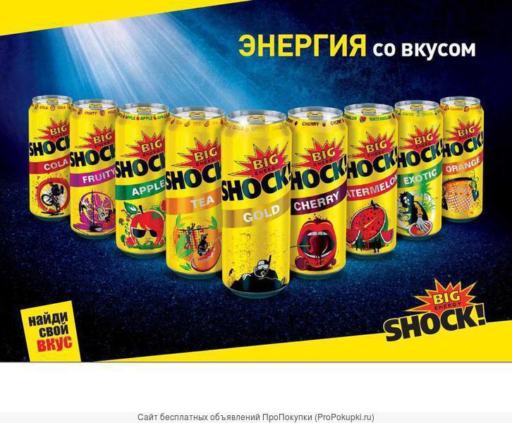 Энергетические напитки BIGSHOCK! (пр-во Чехия)