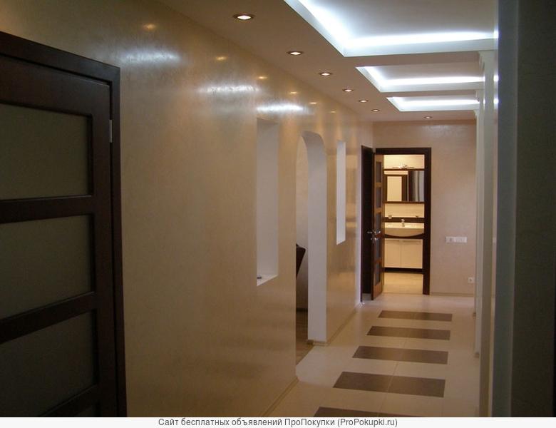 Услуги по ремонту квартир, коттеджей, торгово-офисных помещений