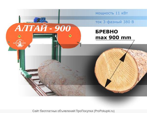 Ленточная Пилорама «Алтай-3»
