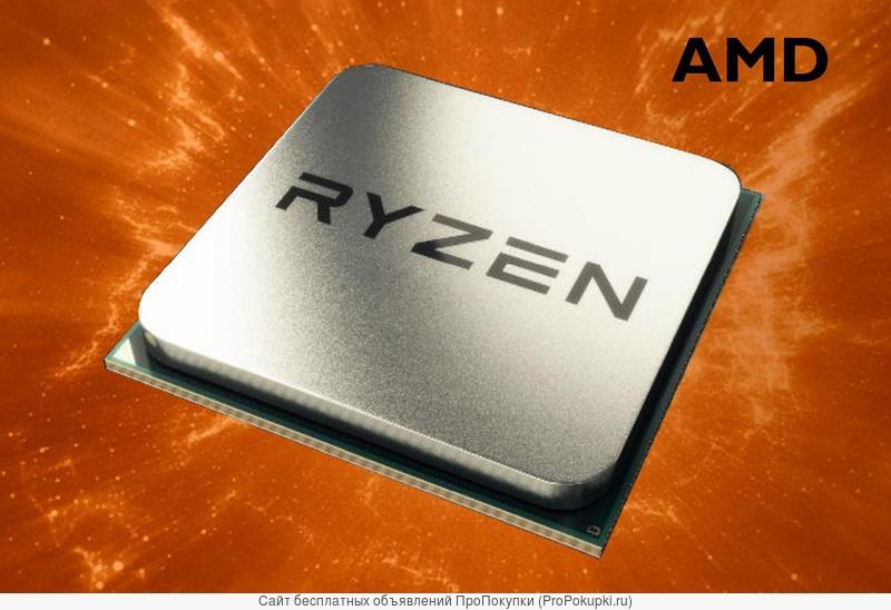 Новые процессоры 4 ядра AMD Ryzen 5 2400G (3.6-3.9GHz, Radeon Vega 11)
