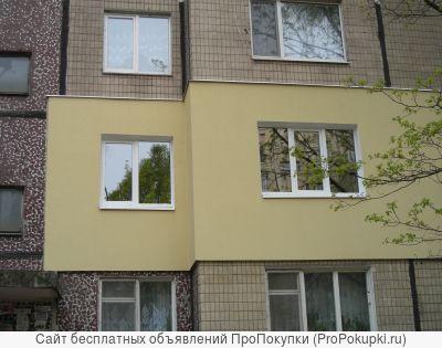 Утепление и отделка фасада зданий