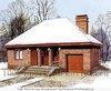 Проект двухэтажного кирпичного дома с гаражом на 220 кв. м