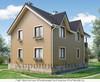 Дом из газобетона 8.4x11.6 162.2 кв.м