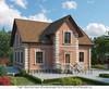 Дом из газобетона 8x12.3 159.9 кв.м