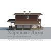 Дом из газобетона 7x10 площадью около 100 кв.м