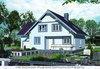 Проект кирпичного дома 9,5 на 12,5 м с гаражом
