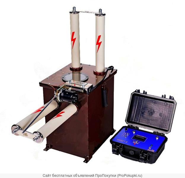 АВ 45-0,1 Высоковольтный аппарат СНЧ для испытания кабеля